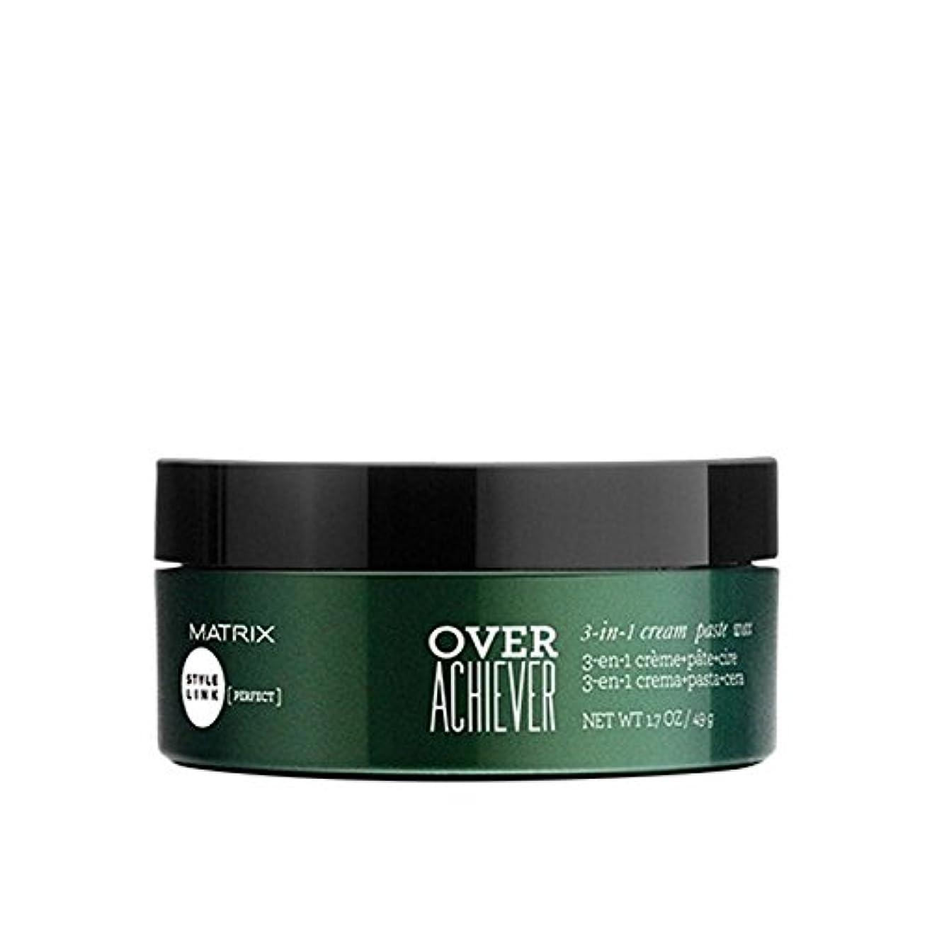 カナダ必需品添付Matrix Biolage Style Link Over Achiever 3-In-1 Cream, Paste And Wax - 達成者3イン1クリーム、ペーストワックスを超える行列バイオレイジスタイルリンク...
