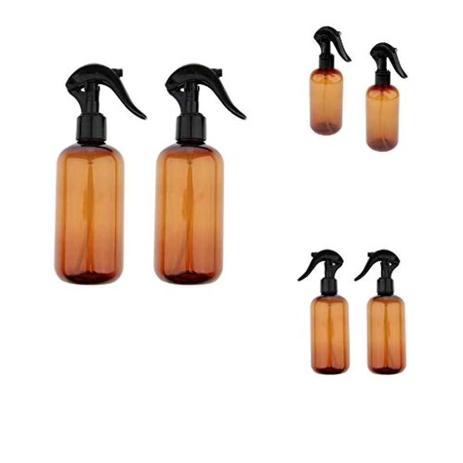 その間ドライ流すPerfeclan 液体用空ボトル 押し式詰替用ボトル 詰替え容器 霧吹き 空ボトル スプレーボトル 遮光瓶 6個入り