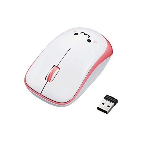 エレコム ワイヤレスマウス 3ボタン 省電力  ピンク M-IR07DRPN