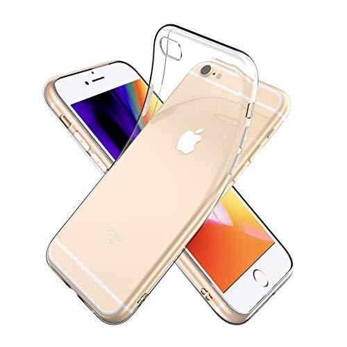 Youriad iPhone 6S / 6 ケース カバー | 透明 クリア ソフト カバー| 特徴 軽量 薄型 ストラップ 滑り止め 落下防止 TPU(iPhone6S iPhone6 カバー 専用)