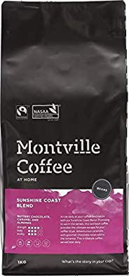 MONTVILLE COFFEE Sunshine Coast Blend Coffee Beans 1 kg,
