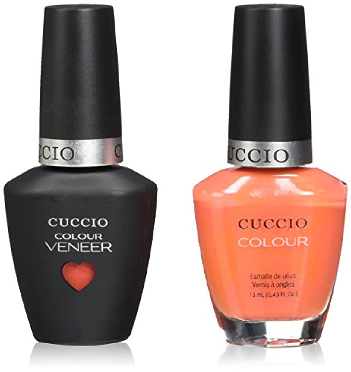 事実上日付付き喜劇Cuccio MatchMakers Veneer & Lacquer - California Dreamin - 0.43oz / 13ml Each