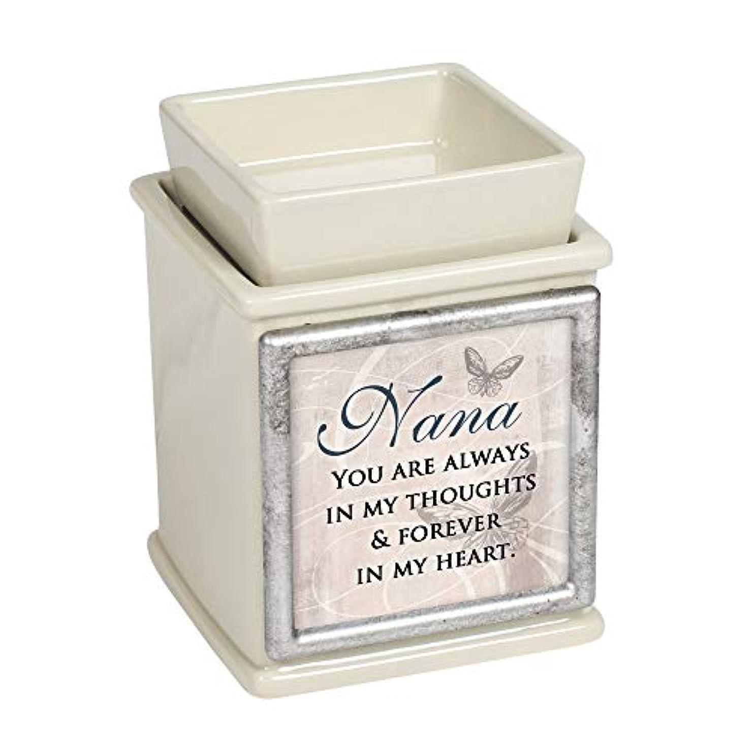 排泄する私たちのエーカーElanze Designs Nana Forever in My Heart パウダー サンド 交換可能 プリント キャンドル ワックス オイルウォーマー