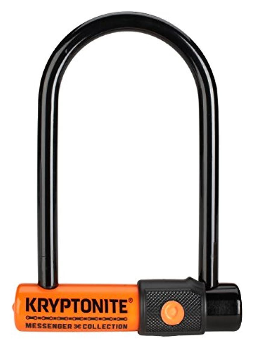 微弱保存休憩するKryptoniteメッセンジャーミニ自転車U - Lock