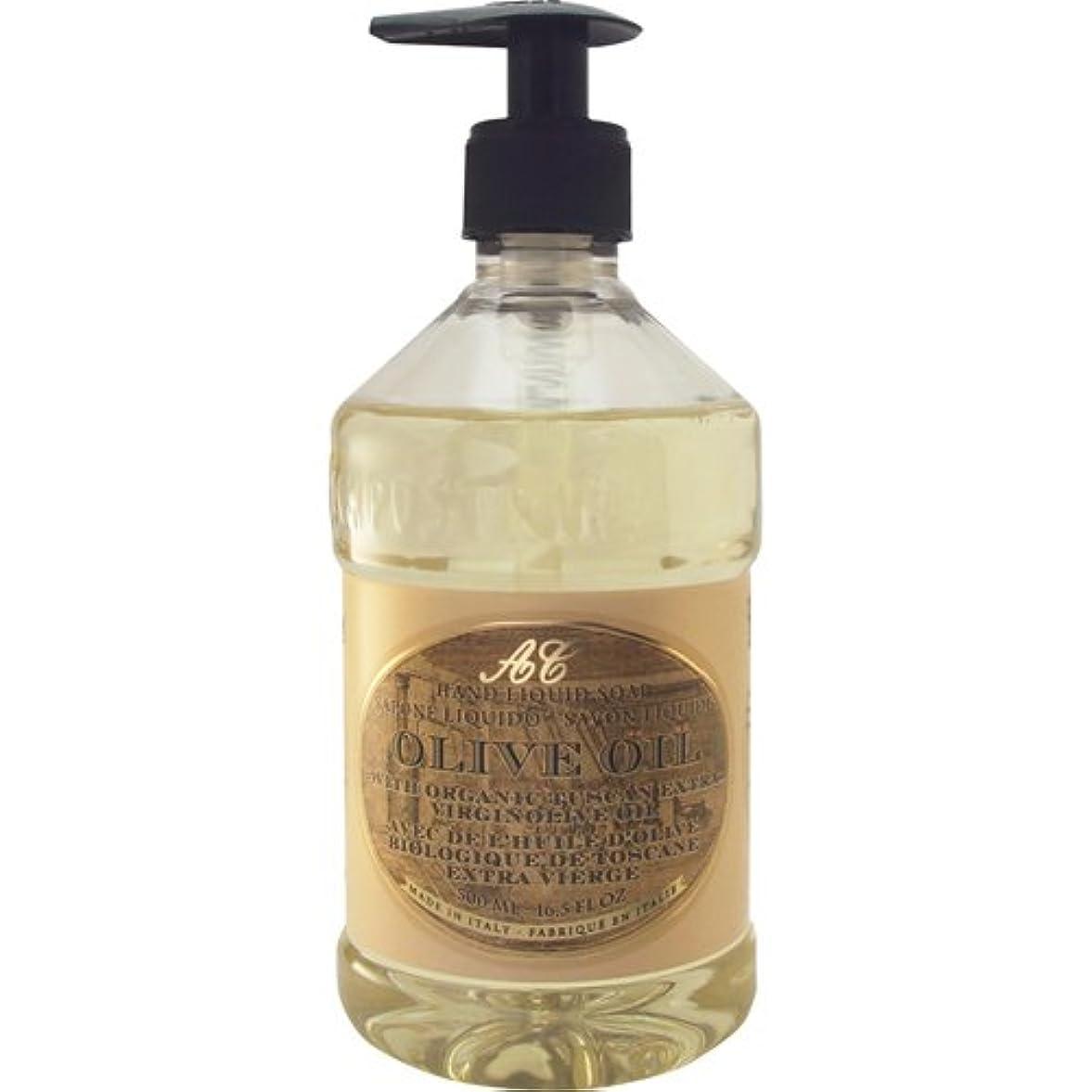 チューブ流用するスクラップブックSaponerire Fissi レトロシリーズ Liquid Soap リキッドソープ 500ml Olive Oil オリーブオイル