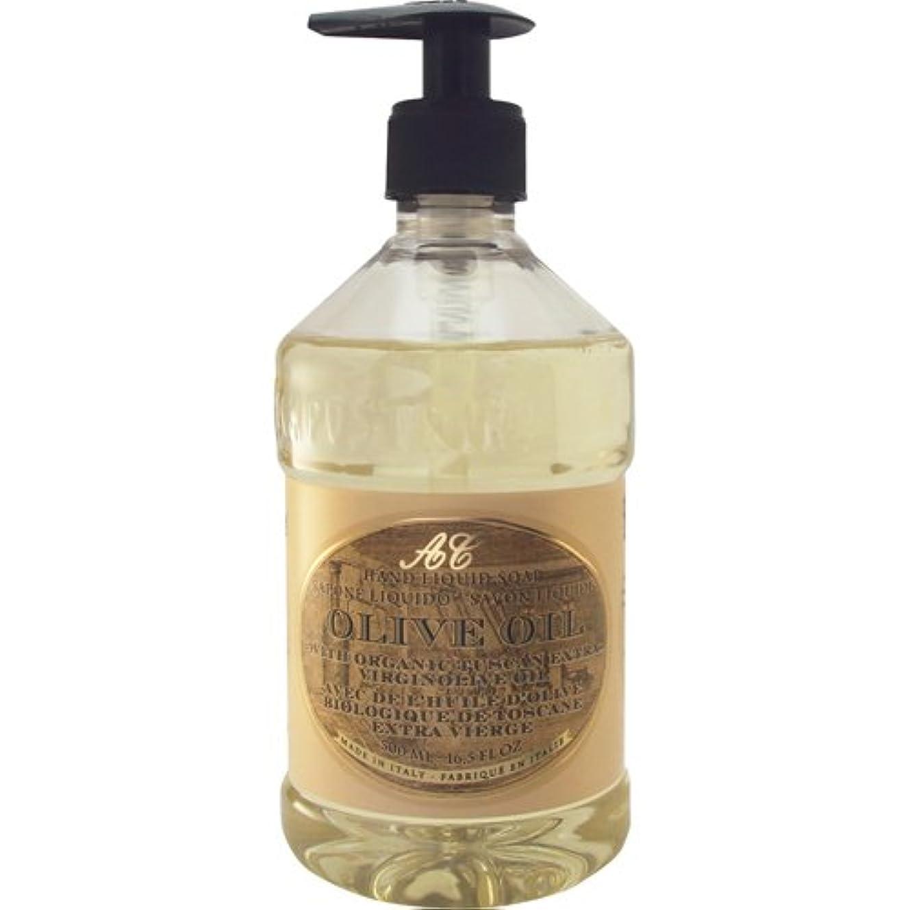 尽きるわずかな見込みSaponerire Fissi レトロシリーズ Liquid Soap リキッドソープ 500ml Olive Oil オリーブオイル