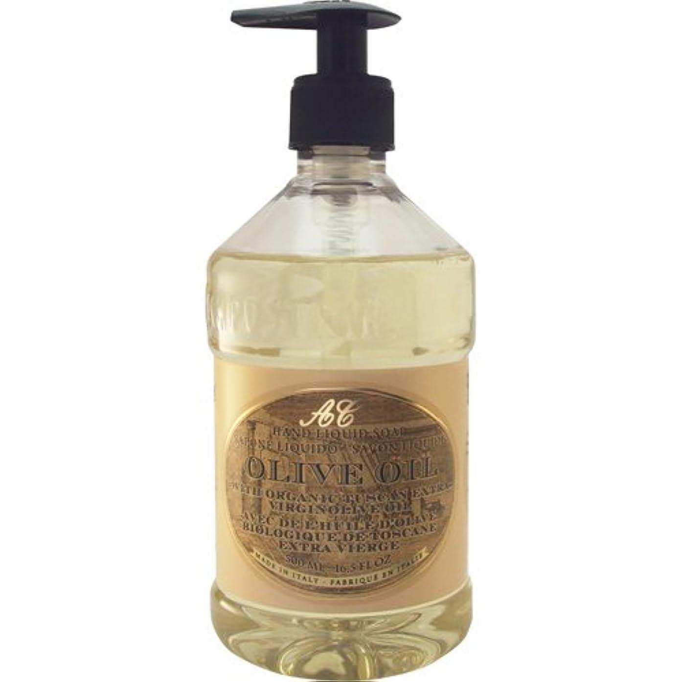 神学校以下マエストロSaponerire Fissi レトロシリーズ Liquid Soap リキッドソープ 500ml Olive Oil オリーブオイル
