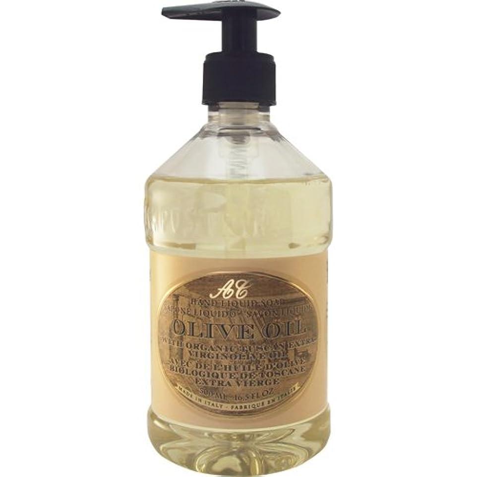 キャンバス投票下Saponerire Fissi レトロシリーズ Liquid Soap リキッドソープ 500ml Olive Oil オリーブオイル