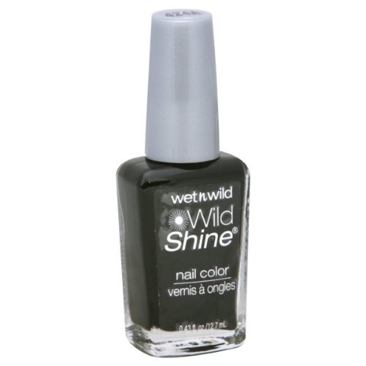 おもてなしわざわざ駅Wet N Wild Shine Nail Color: Black