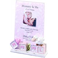 Lillian Rose Mommy and Me Picture Frame, Little Lamb, 4 x 6 by Lillian Rose [並行輸入品]