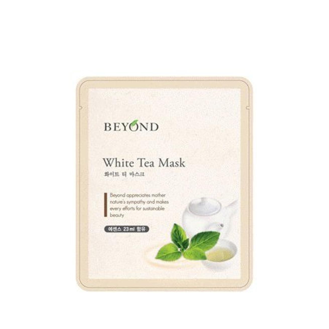 しがみつくチーフ純粋にBeyond mask sheet 5ea (White Tea Mask)