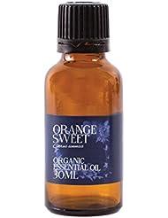 Mystic Moments | Orange Sweet Organic Essential Oil - 30ml - 100% Pure