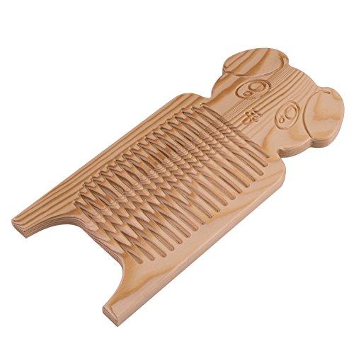 [해외]OBOR (오비오아) 미니 빨래판 원래 팬더 빨래판 나무 35x15x1.5cm/OBOR (Ovio) mini washboard original panda wash board wooden 35 x 15 x 1.5 cm