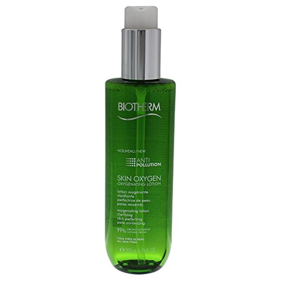 イブニングクリーナーおとなしいビオテルム Skin Oxygen Anti-Pollution Oxygenating Lotion 200ml/6.76oz並行輸入品