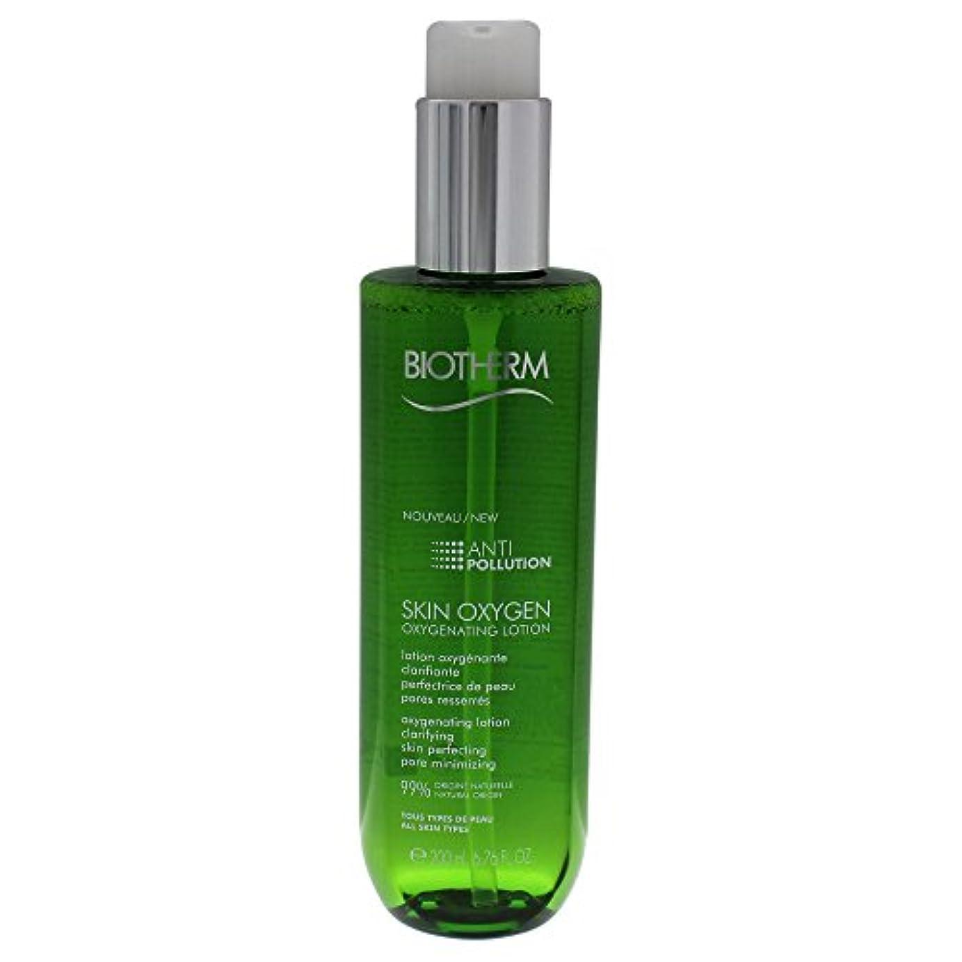 アルファベット杭化粧ビオテルム Skin Oxygen Anti-Pollution Oxygenating Lotion 200ml/6.76oz並行輸入品