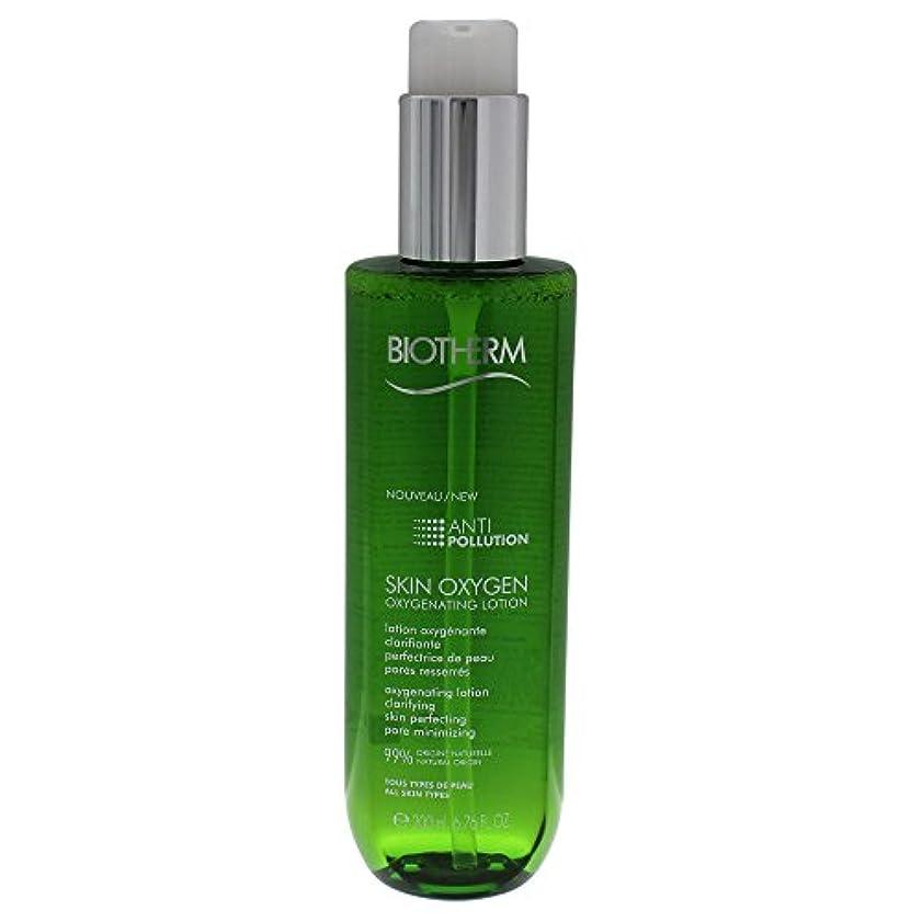 純正キウイ業界ビオテルム Skin Oxygen Anti-Pollution Oxygenating Lotion 200ml/6.76oz並行輸入品