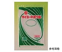 中川製袋化工 タイヨーのポリ袋 厚さ0.08×巾150mm×長さ250mm 50枚×80袋