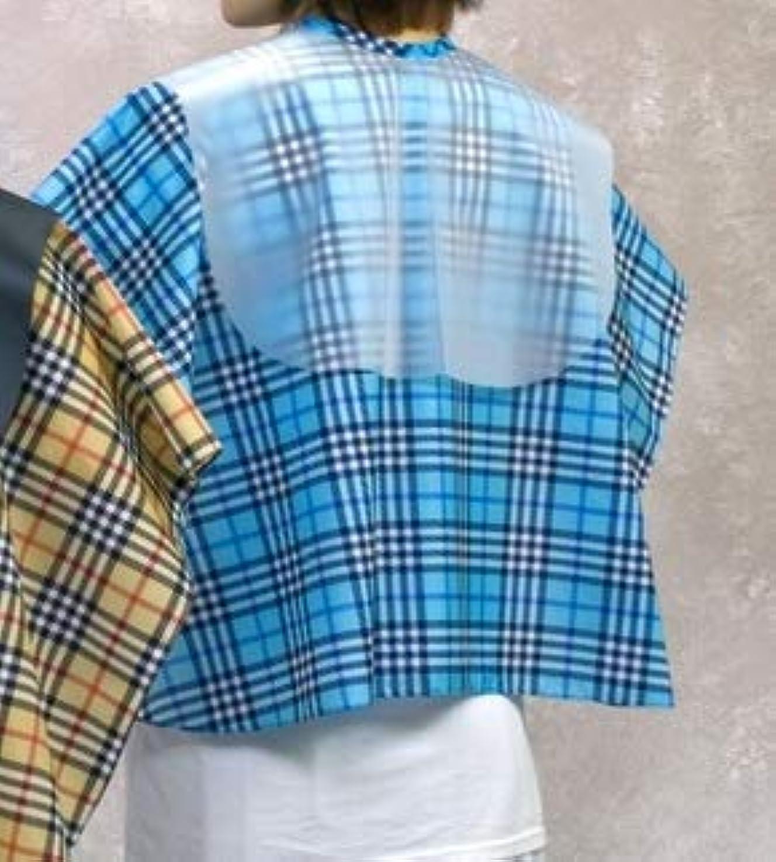 リング顕著小包エクセル 5012 バックシャンプークロス ブルー チェック