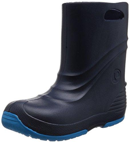 [プーキーズ] POOKIES ジュニア・キッズ 長靴 スノーブーツ兼用レインブーツ PK-EB520 NV (ネイビー/22/23cm)