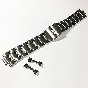 20mm セイコー 時計バンド  アルピニスト 専用バンド ステンレススティール SARB013 SARB015 SARB017の専用ブレス