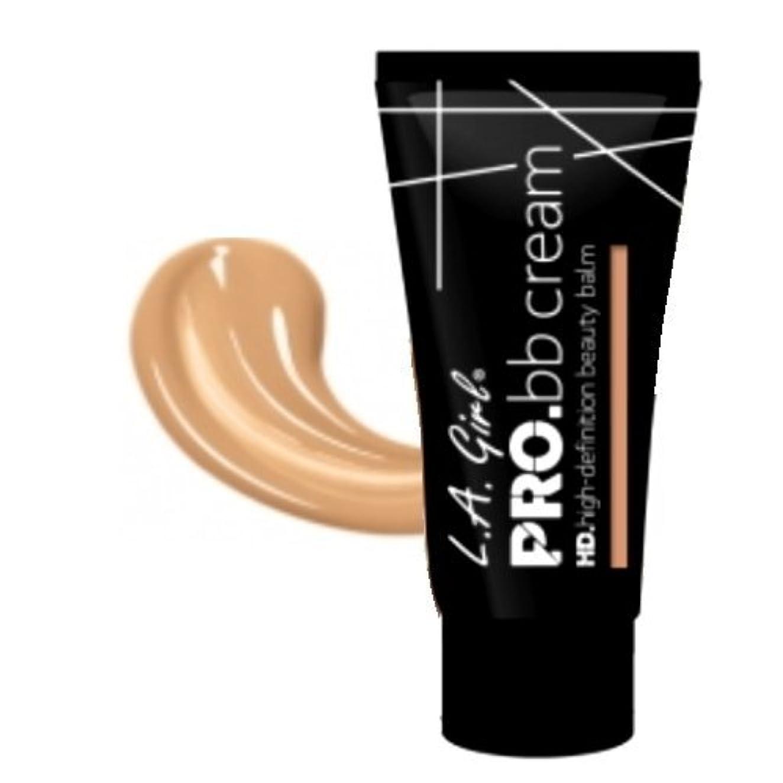 成功する絶え間ないセンター(3 Pack) LA GIRL HD Pro BB Cream Neutral (並行輸入品)