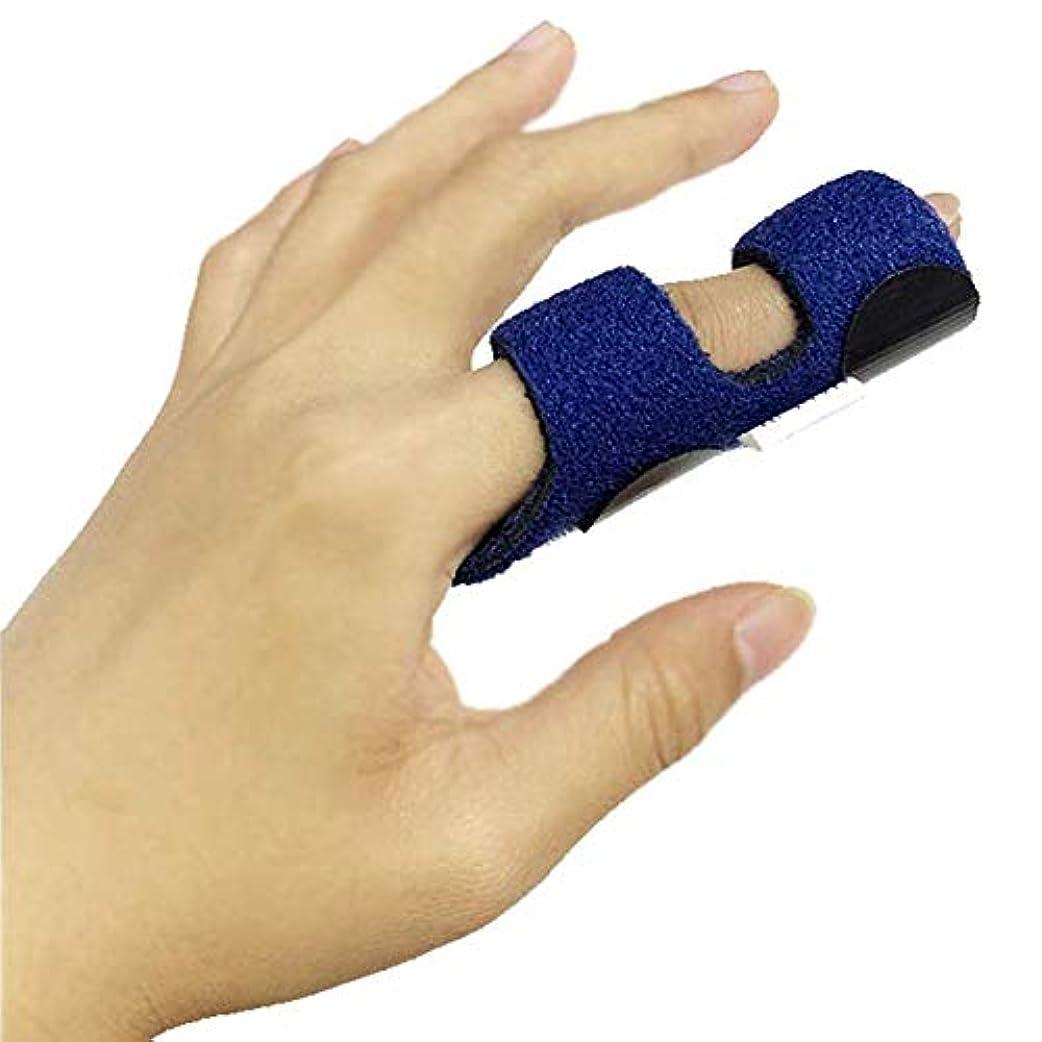 適度なトムオードリース無駄関節炎アルミ捻挫関節の痛みを軽減するナックル固定化ラップ骨折腱のためのばね指スプリント
