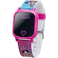 L.O.L. Surprise! Girls' Quartz Watch with Rubber Strap, Pink, 17 (Model: LOL4149AZ)