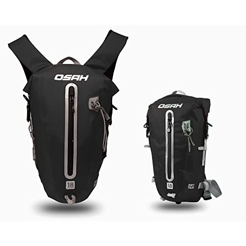 CYCLINGNET 防水(IPX6)パック DRY PAK バックパック ロードバイク 自転車 サイクリング用 (B14602-18L-BLACK)