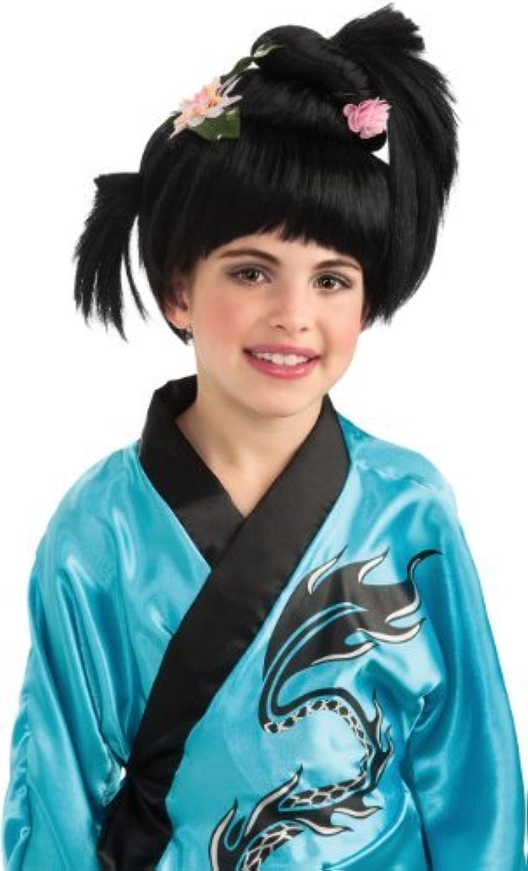 Girls Geisha Wig - Child Std. [並行輸入品]