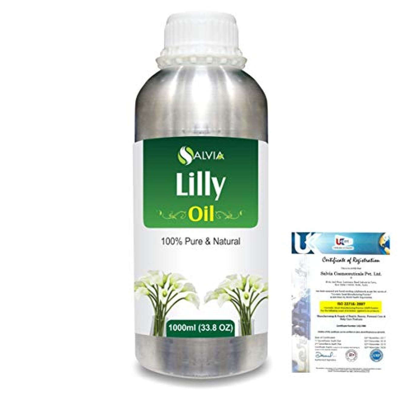 の間にありそう収益Lilly (Lilium auratum) 100% Natural Pure Essential Oil 1000ml/33.8fl.oz.