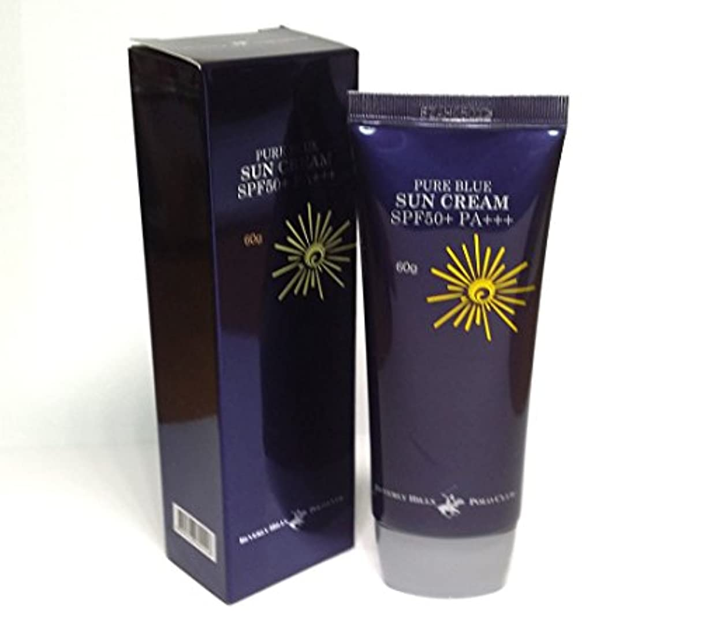 特別に利得代わって[BEVERLY HILLS POLO CLUB] ピュアブルーサンクリームSPF50 + PA +++ 60g X 1ea / 韓国化粧品 / Pure Blue Sun Cream SPF50+ PA+++ 60g...