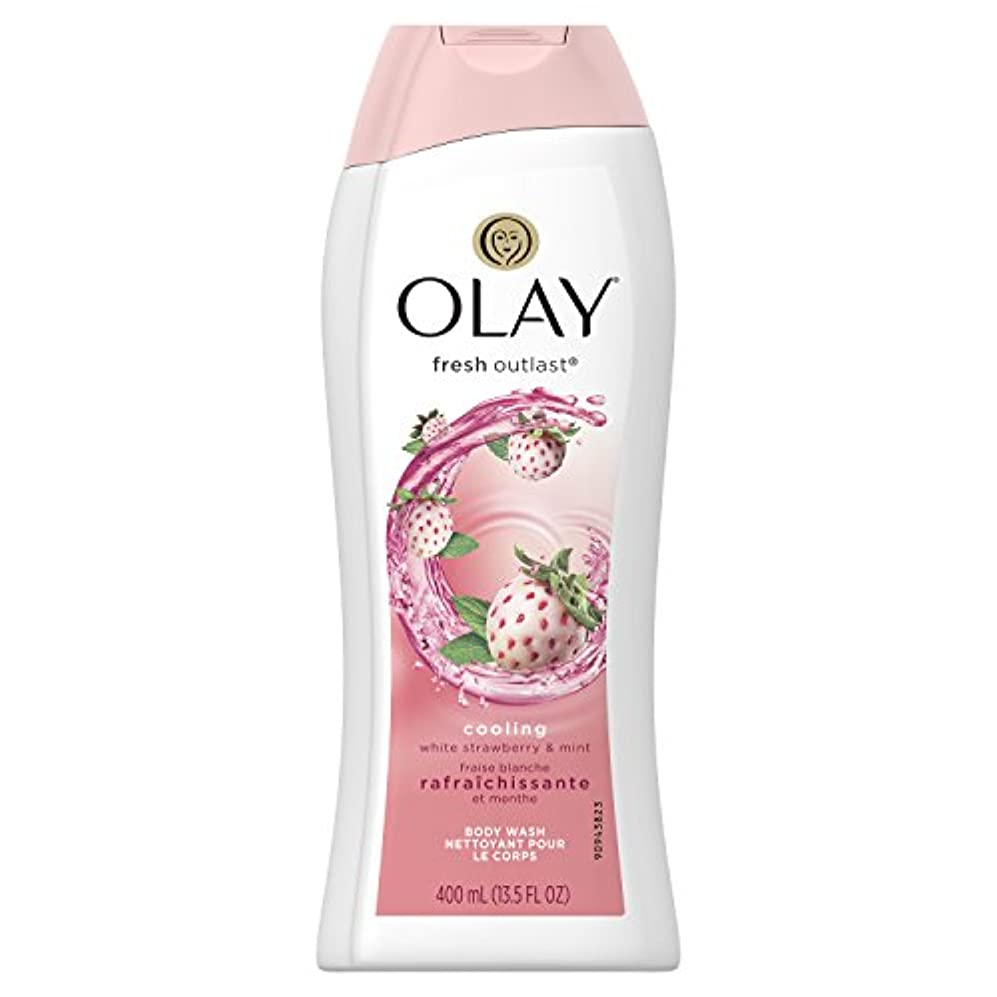 移植右残りFresh Outlast Body Wash Cooling white Strawberry & Mint