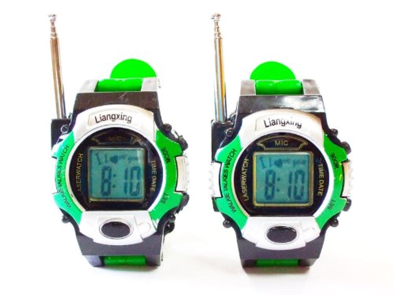 スーパー名探偵コナン仕様時計タイプのトランシーバー2台1セット(G) 平行輸入品