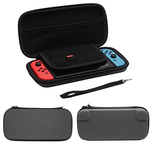Nintendo Switch用ハードポーチ ニンテンドースイッチバッグ Nintendo Switch対応収納EVAケース コンパクト 任天堂スイッチビデオゲームコンソールストレージケース
