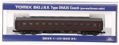 TOMIX Nゲージ 8543 国鉄客車 オハ35形 (戦前型・茶色)