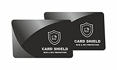 RFID/NFC Blocking Card by INTERVISIO | Contactless Cards Protection | 1 Card Protects Your Entire Wallet | No Batteries Required, No More Sleeves Needed, Worry-Free Protection