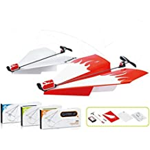 XuBa Electric Paper Airplane Conversion Kit DIY Model Educational Toy Birthday Christmas Xmas Gift Present for Kids
