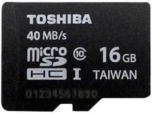【16GB】 TOSHIBA/東芝 microSDHCカード Class10 40MB/s UHS-I 海外リテール SD-C016GR7AR040A