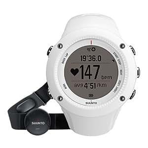 SUUNTO(スント) ランニング 登山用 GPS AMBIT2 R HR ホワイト 心拍ベルト付き 【日本正規品】 SS020658000