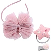 Large Capacity Outdoor Equipment Girls' Pink Hair Accessories