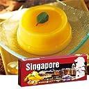 シンガポール マンゴー プリン 1箱【シンガポール 海外土産 輸入食品 スイーツ】