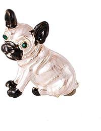 Demiawaking 2018人気ブローチ 犬パタン 服アクセサリー 飾り 個性 創意 パーティー 舞台 2色選べる