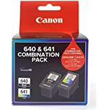 Canon PG640CL641CP Combo Pack (1 x PG640 Black & 1 x CL641 Colour)
