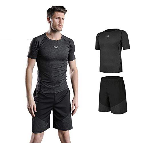 003862b87c9 Aisprts コンプレッションウェア セット スポーツウェア メンズ 長袖 半袖 冬 上下 5点セットトレーニング 高