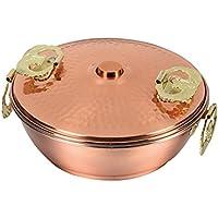 パール金属 メイドインジャパン 純銅製 しゃぶしゃぶ鍋 17cm 【ガス火専用】 HB-1789