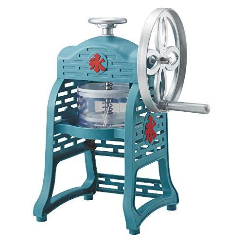 ドウシシャ 氷かき器 手動 ふわ雪 レシピブック付き 製氷カップ2個付き