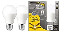 MiracleLED RoughサービスLEDエネルギーセーバー家庭用交換用電球 2 Pack 606542 1