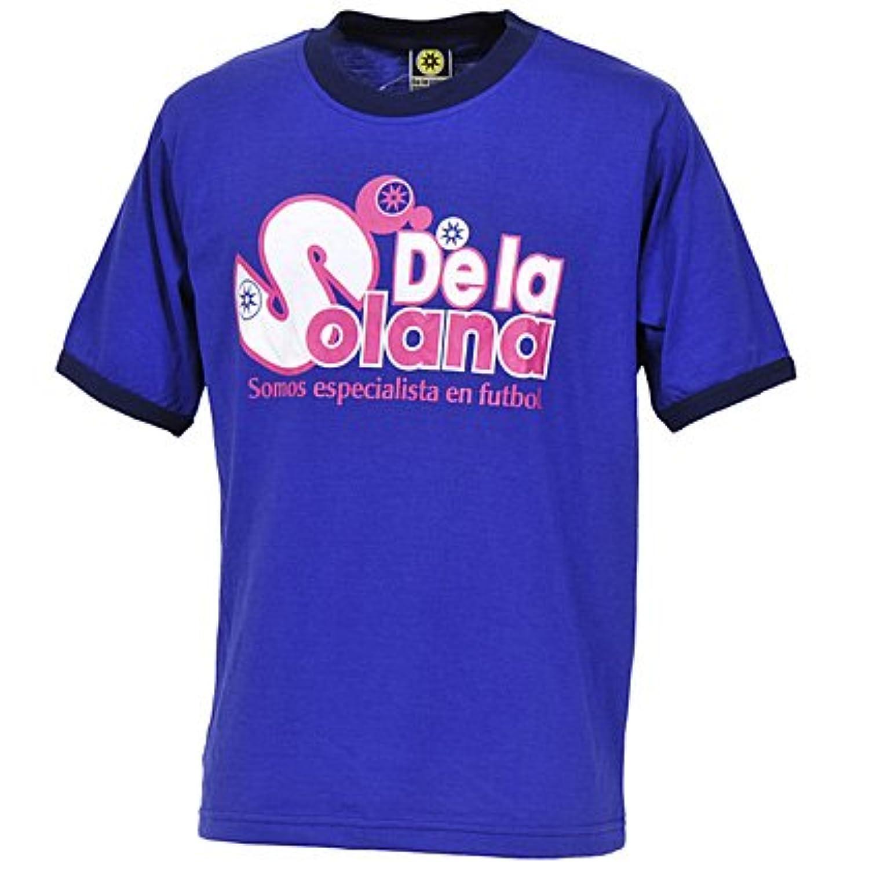 De la solana(デラソラーナ) マジョルカ半袖Tシャツ Mサイズ ジャパンブルー DS105-55
