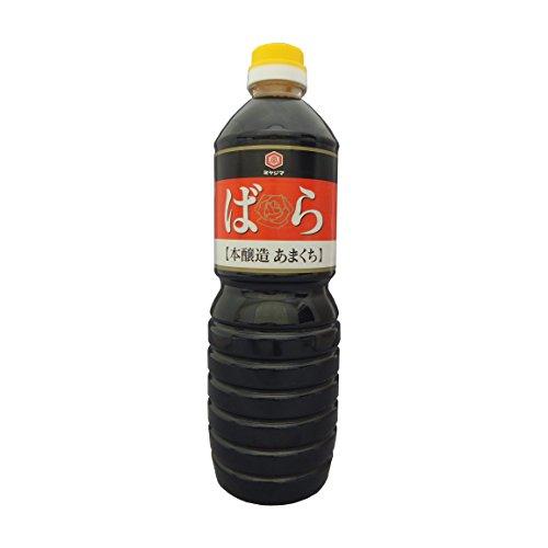 宮島醤油 本醸造ばら 濃口醤油 1L