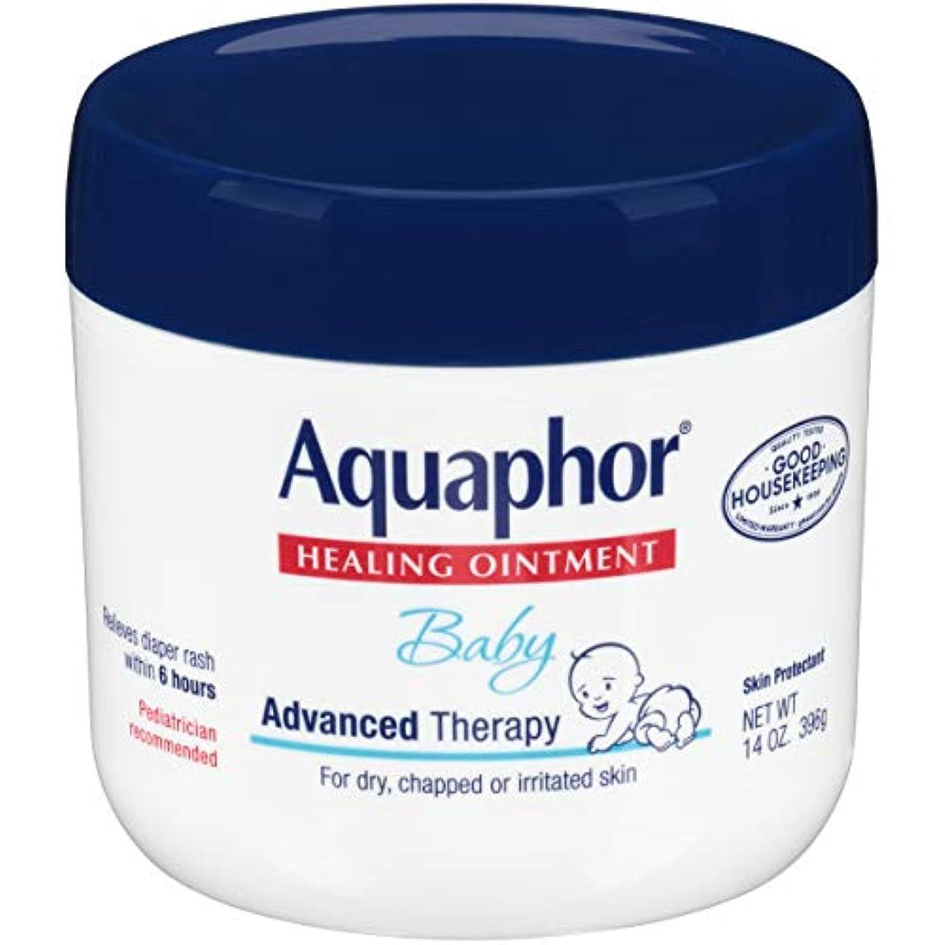 浸透するに宇宙飛行士Aquaphor Baby Healing Ointment Advanced Therapy Skin Protectant